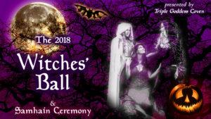 2018 Witches' Ball/Samhain Cermamony @ Fife Community Center | Fife | Washington | United States